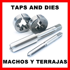 Taps & Dies sets and individuals, Metric and Imperial sizes.